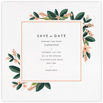 Best 25 save the date ideas on pinterest save the date for Online save the date template free
