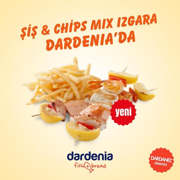Seyirlik değil, doyumluk olsun! En yeni Dardenia spesiyali Şiş Mix!