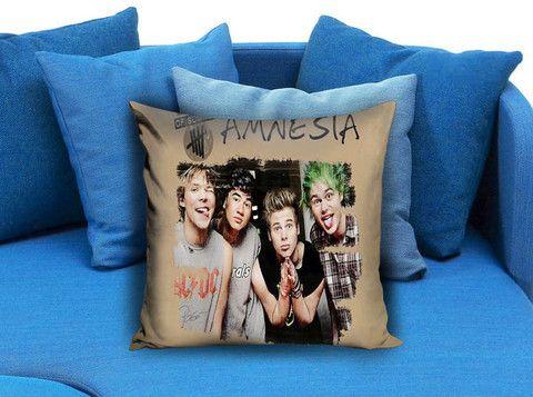 5SOS 5 Seconds of Summer Amnesia Pillow case #pillow #case #pillowcase #custompillow #custom