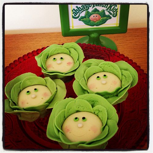 80s themed party cabbage patch kids oreo