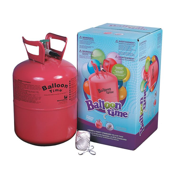 Small Helium Tank - OrientalTrading.com