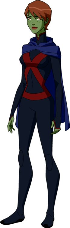 Featuring a new Superboy costume, Beast Boy, Blue Beetle (Jaime Reyes), Wonder Girl and Miss Martian (with a new, cute haircut).