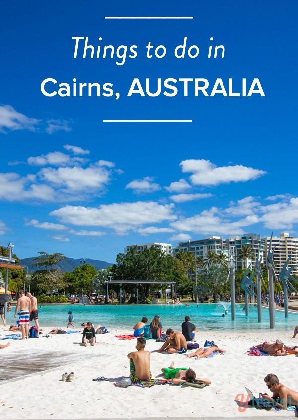 Is the Great Barrier Reef on your bucket list? It's all here in Cairns, Australia plus much more!