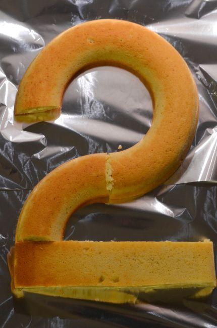 gateau anniversaire 2 deux ans raibow cake simple facile et rapide gateau smarties gateau au yaourt revisité en forme de chiffre (7)