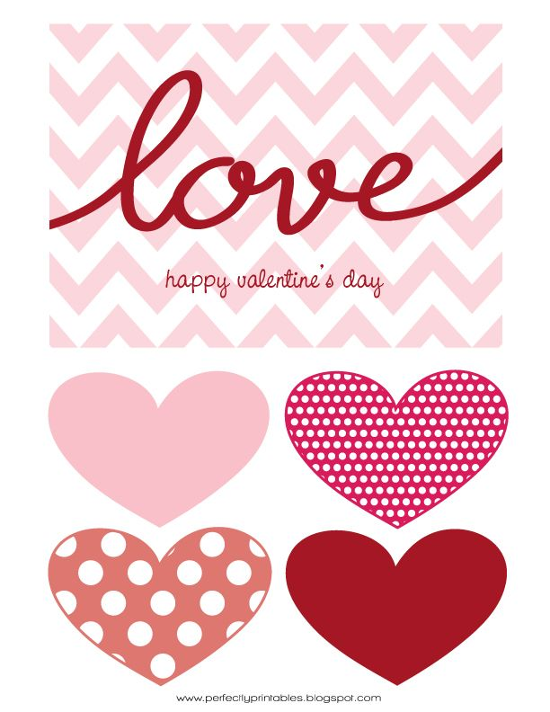 FREE Valentine's Day Printables @kristin b.