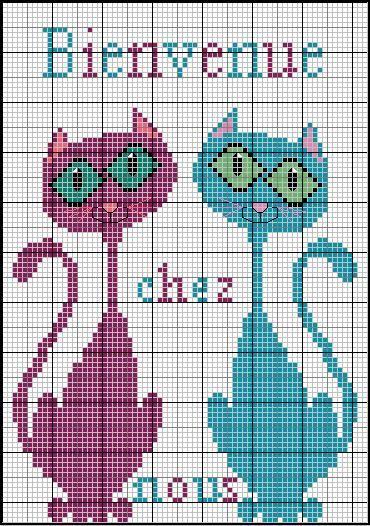 grille gratuite - au fil de mes croix - Point de croix - Blog : http://broderiemimie44.canalblog.com/