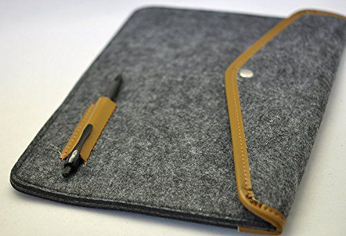 Amazon.com: 2016 Amazon Kindle Oasis with Leather Charging Cover Rough Pouch With Pencil Holder Case Sleeve Bag (Black): Electronics
