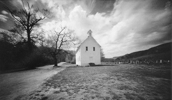 Arkansas Schoolhouse by Thomas Harding