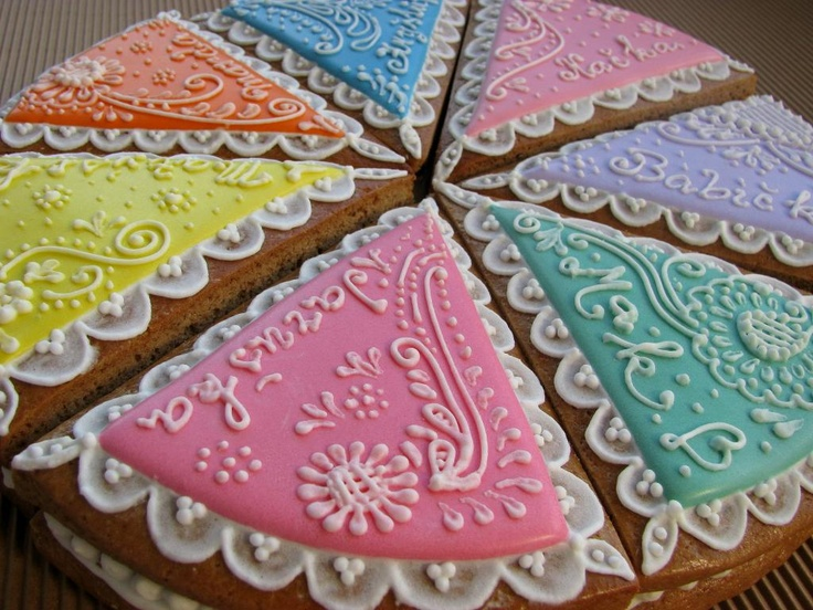 Lacey Pie shape Cookies