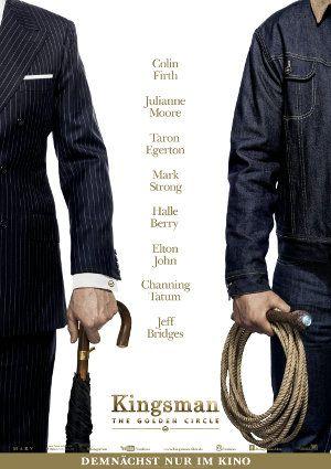 KINGSMAN: THE GOLDEN CIRCLE – Die britischen Agenten mit den tollen Anzügen brauchen für ihr neues Abenteuer etwas Unterstützung aus den USA. Also holt die Cowboyhüte raus. #Kritik #Film #Review