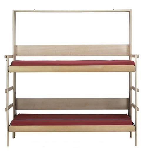 lit escamotable Castelo: idée pour recevoir des invités http://deavita.fr/decoracion/mobilier-meubles/lit-escamotable-optimiser-lespace-idees/                                                                                                                                                                                 Plus