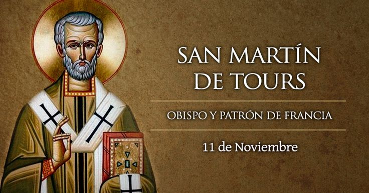 Hoy se celebra a San Martín de Tours, el militar que cubrió a Cristo con su capa