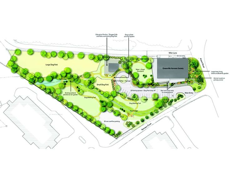 3 The Greenville Humane Society Engaged Our Design Team For The Renovation Of An Existing 10 000 Sf War Humane Society Animal Shelter Design Dog Park Design