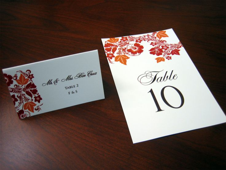 60 best images about wedding place cards on pinterest Unique place card ideas