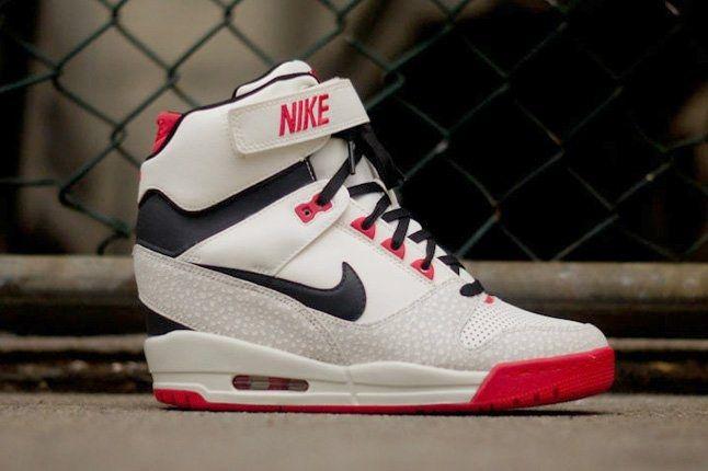 pantofi de temperament stiluri noi reduceri mari Nike Revolution Sky Hi (Sail) - Sneaker Freaker | Fashion cowboy boots,  Cheap cowboy boots, Sailing boots