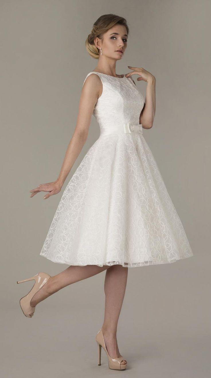 Petticoat Brautkleid knielang - coole Ideen - #brautdress #coole