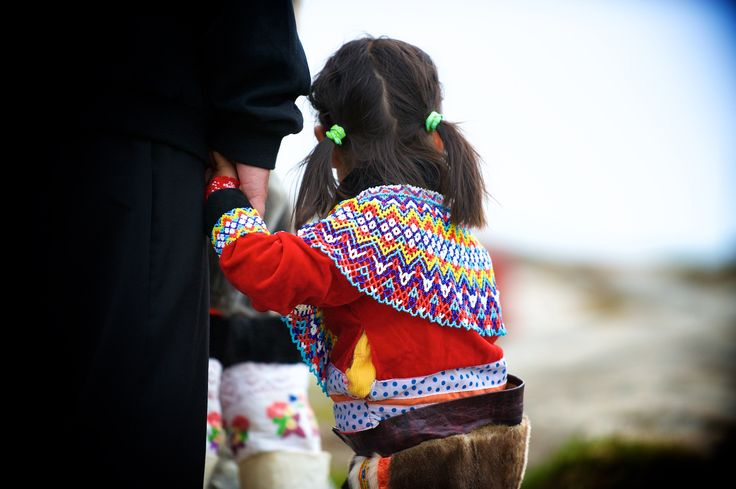 Mission North | A little girl from from Greenland dressed in the Greenlandic national costume | Get my 7 FREE basic photography tips - you need to know right here; http://pw5383.wixsite.com/free-photo-tips · Photographer Pernille Westh