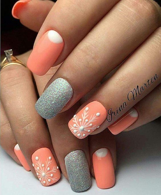 Are you looking for peach acrylic nails design? See our collection full of peach acrylic nails designs and get inspired!