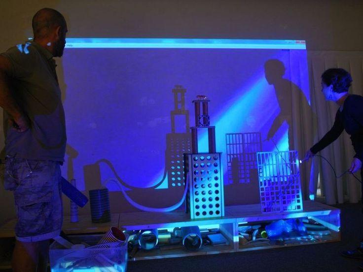 laboratorio nello spazio ReMida Luci ed ombre