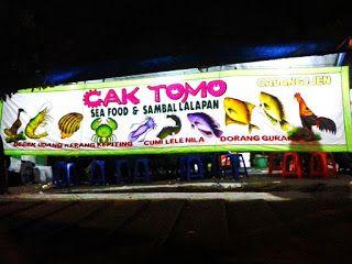 Kuliner Ojek Kilat Malang: Seafood Cak Tomo