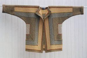 Hanne Falkenberg handknit wool jacket