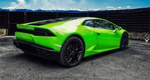The outlandish Japanese tuner has previewed their wide body kit for the Huracan that promises to challenge its big brother, the Aventador for road presence.
