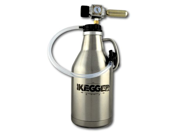 The Growler | 2L Insulated Steel Beer Growler | iKegger