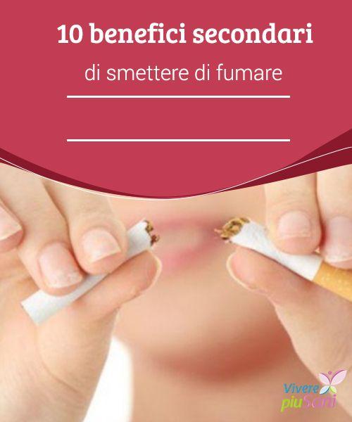10 benefici secondari di #smettere di fumare   Smettere di f#umare ti regalerà numerosi #benefici. Abbandona questa cattiva #abitudine.