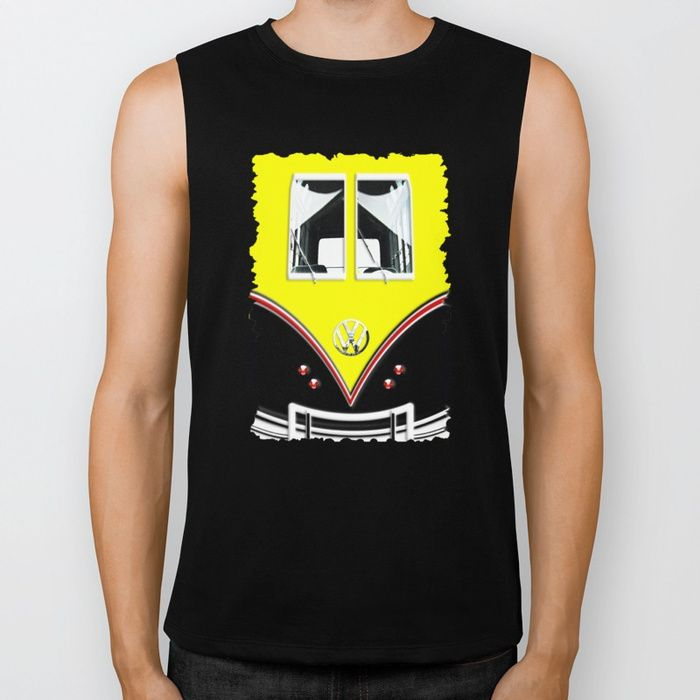Our Biker Tank, made exclusively for Society6, is an edgier take on the traditional Muscle Tank. It's crafted using extremely soft 100% combed jersey cotton with deep arm openings and raw cut edges. The Biker Tank is a boyfriend fit, intended to hang loose - women may wish to select one size smaller for a more fitted wear.