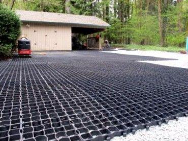 Interlocking Grid System For Gravel Driveways Terrafirm