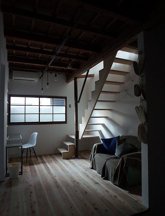 photo studio #リノベーション#一戸建#日本家屋#木造#古民家#階段#オフィス