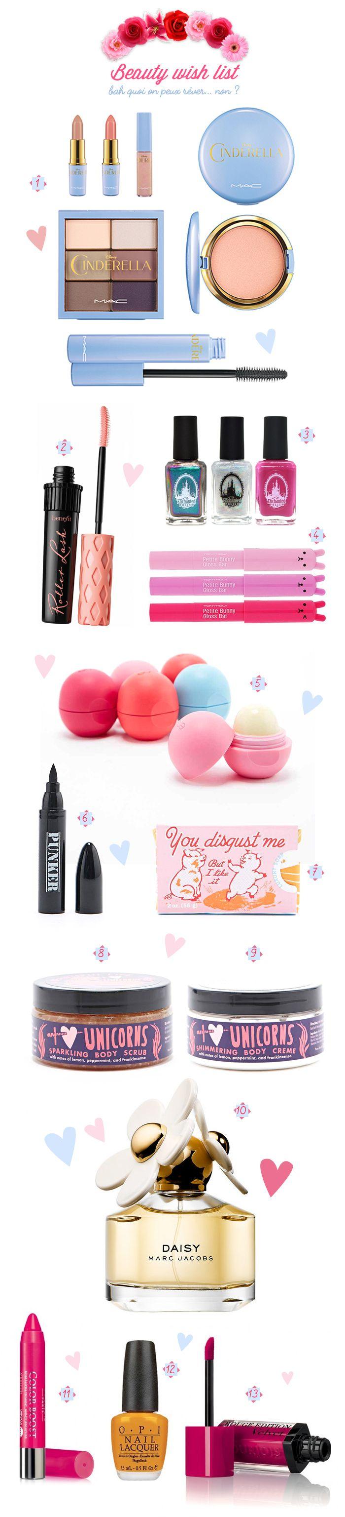 Beauty Wish List (de mes rêves…) – Poulette Magique