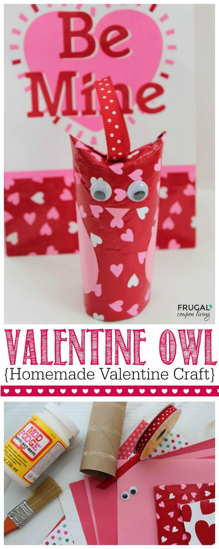 Homemade Valentines Crafts