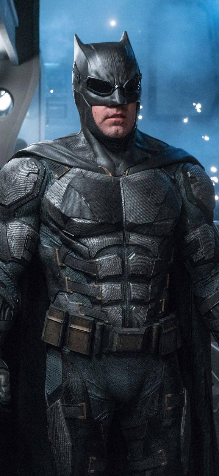 1125x2436 Ben Affleck As Batman In Justice League 8k