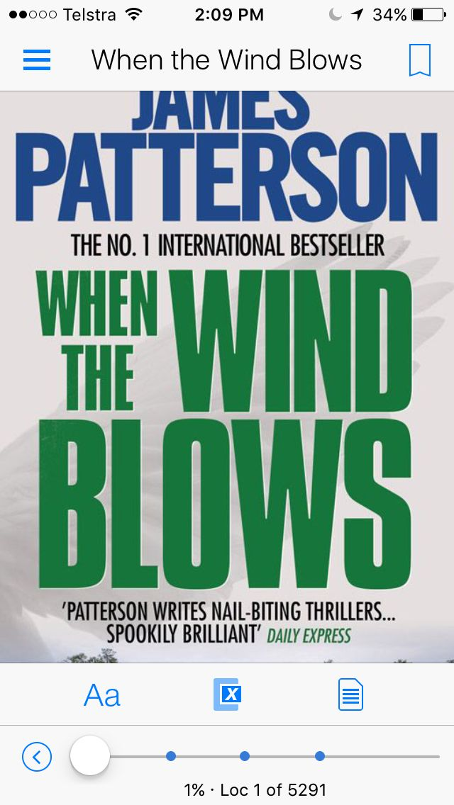 #jamespatterson #whenthewindblows  A different kind of thriller which is set in the world of biotechnology.