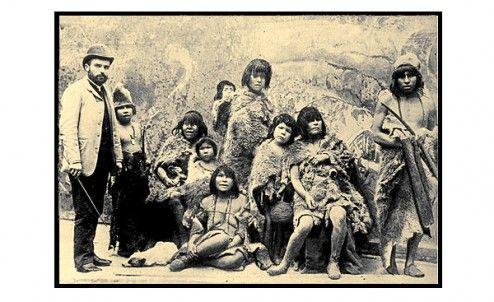 Zoologicos  humanos  con  los  indigenas  Selk´nam.