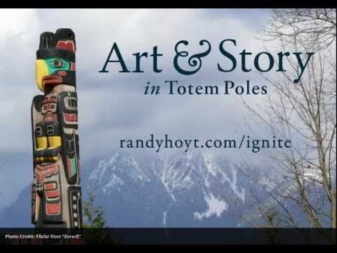 Art & Story in Totem Poles. A 5 minute video on the history of totem poles, ending with a story of a pole from Alaska.