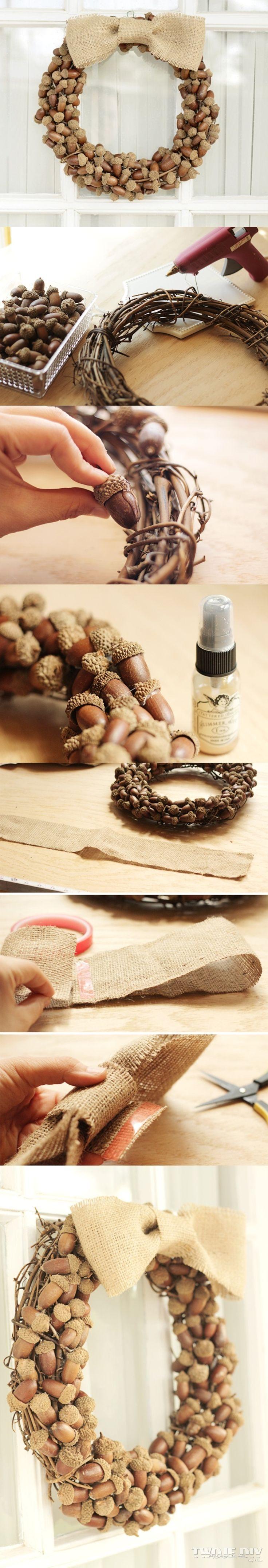Jesienne dekoracje #DIY #handmade #autumn