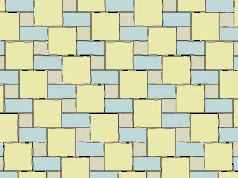 Transverse Tudor Pattern