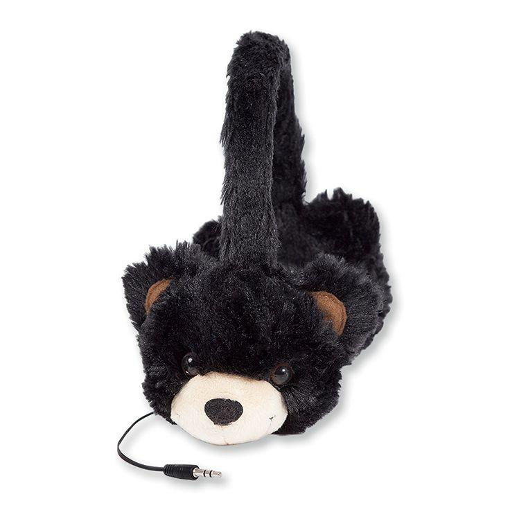 ReTrak Animalz: Le nouveau casque à la mode pour les enfants ! Fun et original. Tissu doux et très agréable au touché. Design adapté aux petites oreilles des enfants. Volume limité à 85db pour la sécurité auditive des enfants. Disponible en divers modèles d'animaux. Réf. EUAUDFBEAR - Ours. http://www.exertisbanquemagnetique.fr/info-marque/ReTrakt #Retrak #Casque #Audio #Enfants