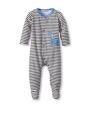 25% OFF Rumble Tumble Baby Dino Longsleeve Coverall (Black)
