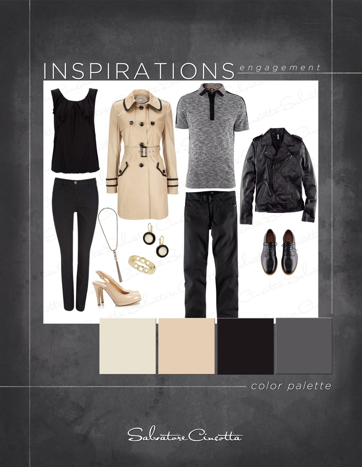 this casual engagement outfit provided by: mens- H womens-Wallisfashion.com