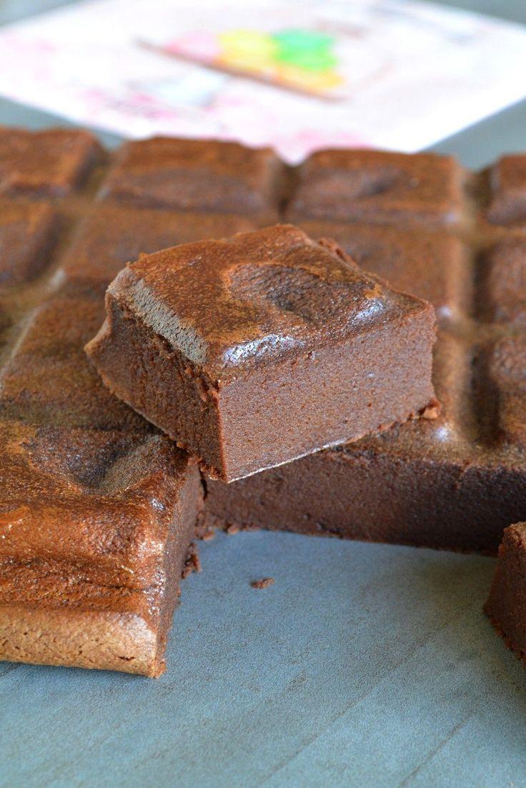 Chocotrobon (fondant au chocolat noir et sa version au chocolat blanc)