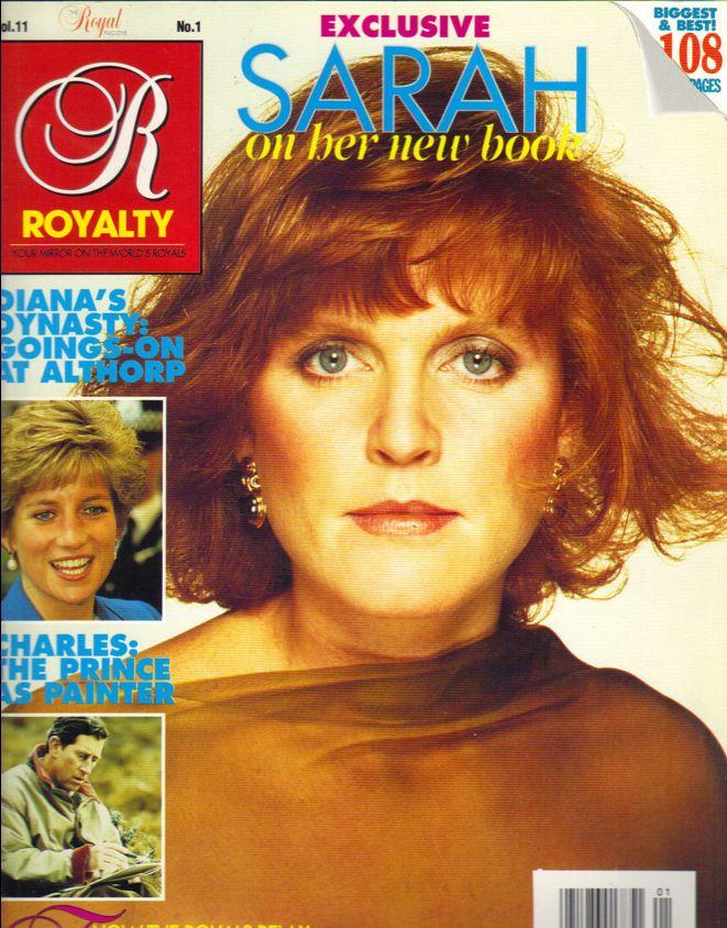 SARAH FERGUSON UK Royalty Magazine 91 Vol 11 No 1