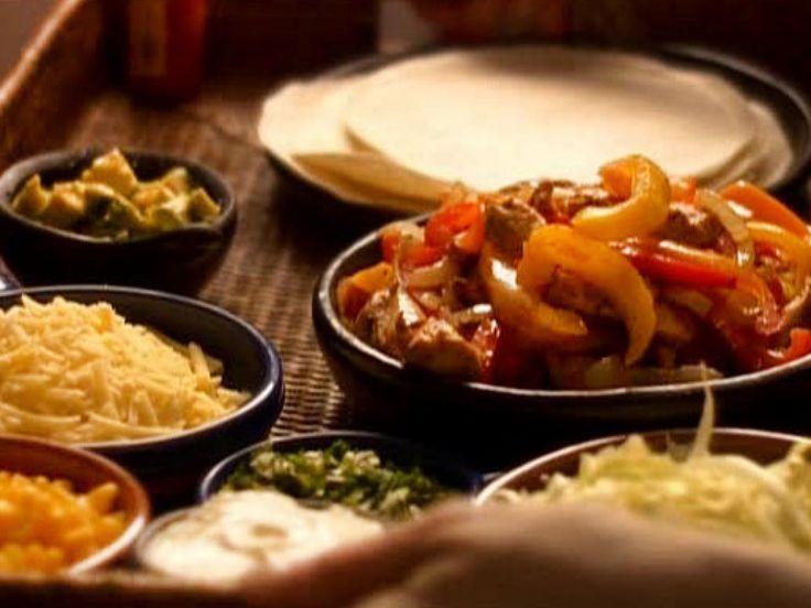 Chicken Fajitas recipe from Nigella Lawson via Food Network