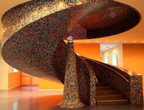 Wondrous Staircase.