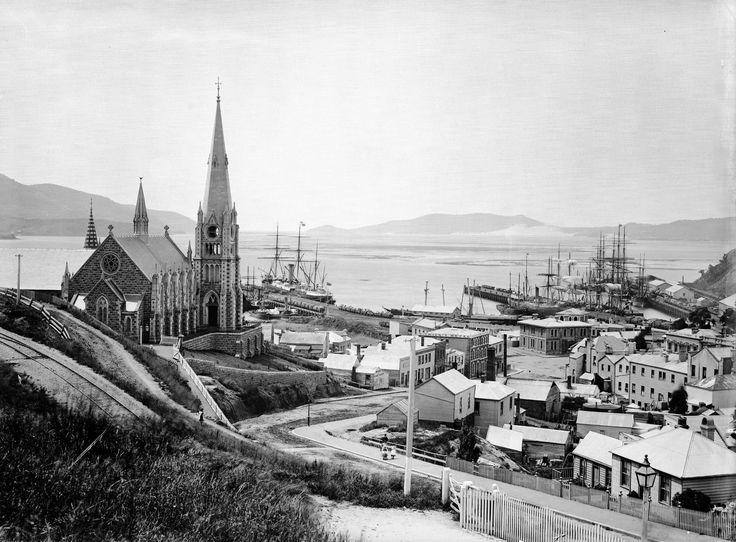 Port Chalmers, Dunedin in the 1880s...