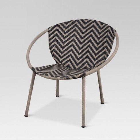 Wicker Pattern Patio Bucket Chair Project 62 Outdoors
