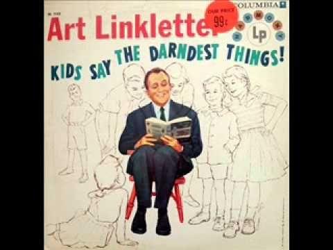 Art Linkletter - Kids Say the Darndest Things - Matrimony (1959) - YouTube