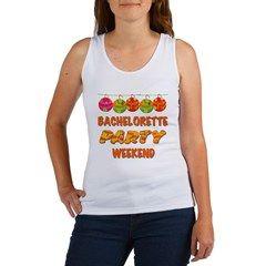 Tropical Bachelorette Weekend Women's Tank Top> Tropical Bachelorette Party Weekend> peacockcards.com